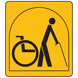 Accessibility at Barnacre Cottages
